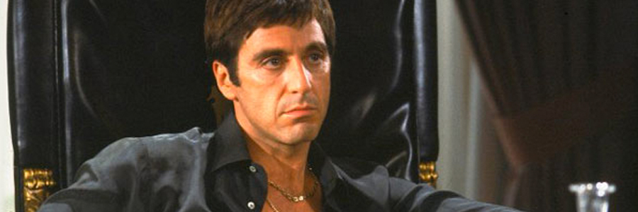 Al Pacino als Tony Montana in Scarface
