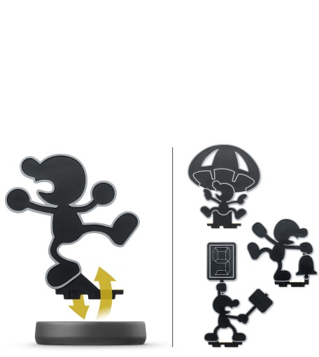 Mr. Game & Watch amiibo